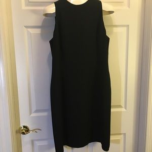 JONES WEAR Black Sheath Dress Size 14
